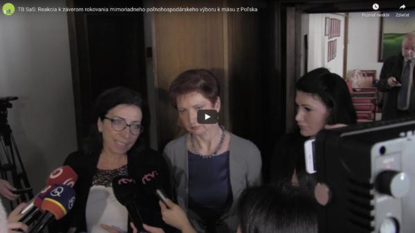 Po mimoriadnom výbore: Škandál s poľským mäsom vyžaduje razantnejšie opatrenia